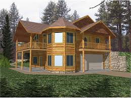 turret house plans normandy peak rustic log home plan 088d 0180 house plans and more