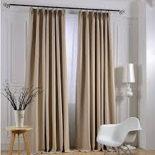 Hotel Room Darkening Curtains Find More Curtains Information About Modern Linen Solid Curtains