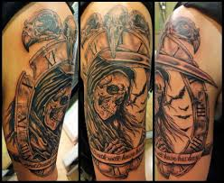 grim reaper with hourglass designs pictures to pin on