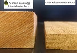 What Type Of Wood For Raised Garden - 2x4 cedar raised garden bed gardeninminutes com