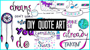 diy motivational quote art for back to to decorate your