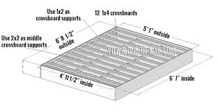How To Make A Platform Bed Diy by How To Build An Upholstered Bed View Along The Way