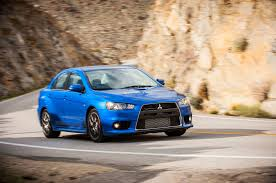 blue mitsubishi lancer 2015 mitsubishi lancer reviews and rating motor trend