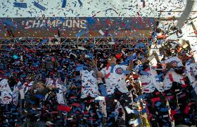 Chelsea Parade Relive The Cubs Parade And Rally From Bridge Jumpers To Tearful