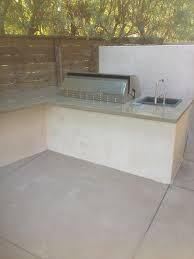 Backyard Bbq Setup Outdoor Kitchens And Fireplaces Cpf Custom Concrete And Masonry