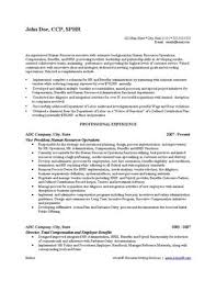 human resources resume writing service ihirehr