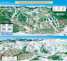 Colorado Ski Area Map by Vail Trail Map Liftopia