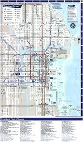 Chicago Colleges Map by Chicago Map