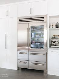 Counter Depth Stainless Steel Refrigerator French Door - kitchen counter depth refrigerator interior and exterior home