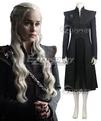 Daenerys Targaryen Costume Of Thrones Season 7 Daenerys Targaryen Cosplay Costume