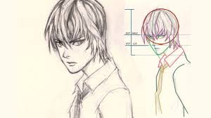 how to draw anime face light youtube