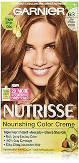 what color garnier hair color does tina fey use nourishing color creme 53 medium golden brown chestnut hair