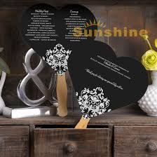 order wedding programs online compare prices on wedding program fan online shopping buy low