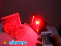 red led flood light 10w 20w 30w 50w rgb led floodlight flood light waterproof ip65 16
