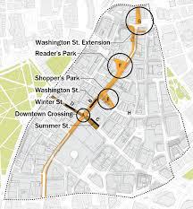 Map Downtown Boston by Jared Steinmark U203a Downtown Boston Guidelines Bid Bra