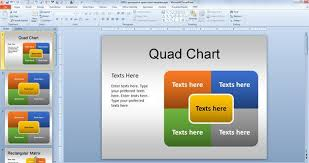 Powerpoint Quad Chart Template Onmyoudou Info Powerpoint Chart Template