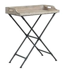 folding oversized wood tray table in espresso folding tray tables top10metin2 com