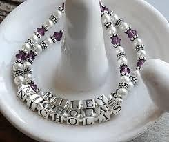 mothers bracelets personalized mothers bracelets
