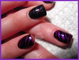 easy nail art designs 1 diy pretty black pink silver 27 pink and