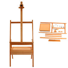 durable artist wood wooden easel display stand studio for drawing