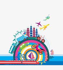 Massachusetts Travel Clipart images Global travel background travel clipart flat travel png image jpg