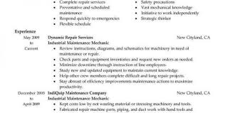 Auto Mechanic Resume Template Unforgettable Automotive Technician Resume Examples To Stand Out