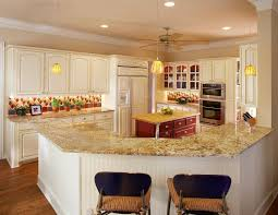 Crystal Kitchen Cabinets Golden Crystal Granite Kitchen Traditional With Eat In Kitchen