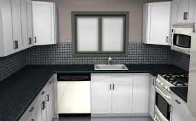 Black And White Kitchen Floors Black And White Kitchen Decor Modern Drop Ceiling Lighting Glossy