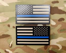 State Flag Velcro Patches Infrared Thin Blue Line Us Flag Patch Set U2013 Britkitusa