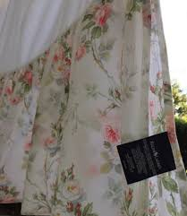 shabby bed skirt full ralph lauren floral 15 drop cottage pink