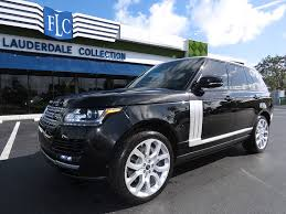 used range rover for sale 2013 land rover range rover 4wd 4dr hse suv for sale in pompano