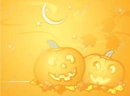 halloween desk top softly orange colored desktop background halloween themed with