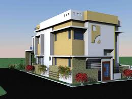 exterior residential architectural design in thaly road hosur
