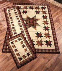 Rustic Cabin Lodge Area Rugs Chard Large Ice Maker Cones Areas And Products