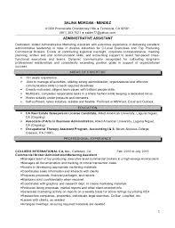escrow assistant resume chronological escrow assistant resume