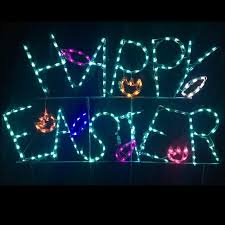 Easter Decorations Lights by Lighted Outdoor Decorations Lighted Easter Decorations