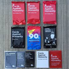 cards against humanity reject pack cards against humanity all 10 special packs