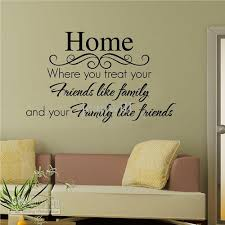 Home Wall Quote Decal Sticker Decor Lettering Saying Wall Art