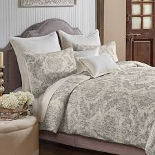 bedding outlet stores grand luxe medallion pattern linen 3 piece duvet set free