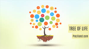 tree of prezi template preziland