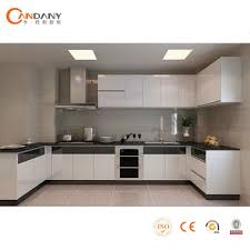 candany modern lacquer kitchen cabinet aluminium composite panel
