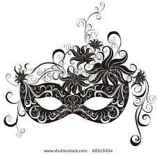 party mask party mask masquerade vector stock vector 68515954