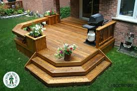 Wood Patio Deck Designs Designs For Simple Wooden Decks In Decking Is Still A Good Old
