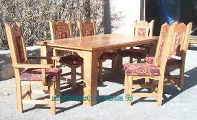 Mexican Chairs Southwestern Furniture In Solid Oak