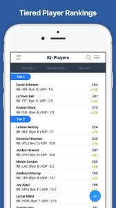 fantasy football draft kit iq and cheat sheet 2017 on the app store