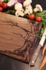 cutting board with recipe engraved personalized engraved wood cutting board circle monogram names