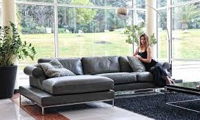 Corner Sectional Sofas by Stylish Leather Corner Sectional Sofa St Petersburg Florida