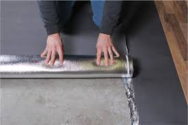 how to install 3in1 vapor barrier underlayment