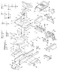 craftsman gt 18 twin garden tractor parts model 917255917