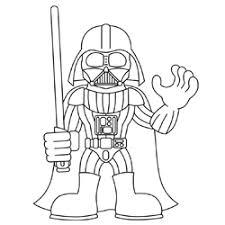 draw darth vader star wars
